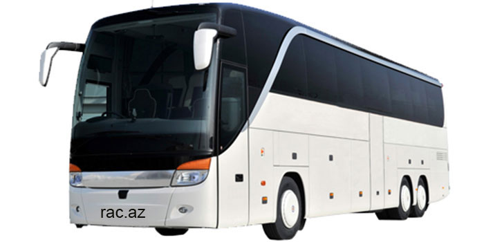 Mercedes Setra bus (for 50-55 people)