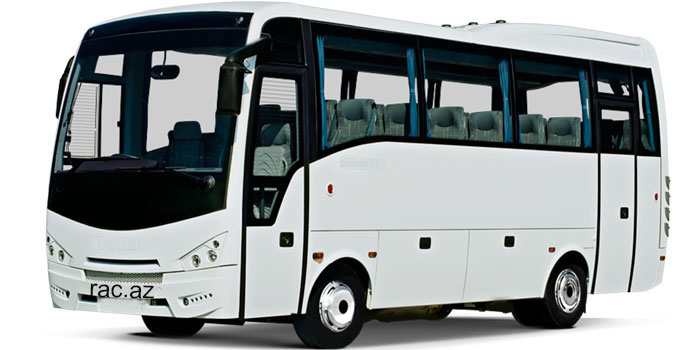 Isuzu Turkuaz bus (for 29-31 people)